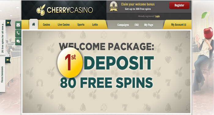 Cherry Casino Review With A 100 Welcome Bonus Up To 200 Need It