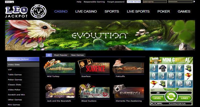 LeoJackpot Online Casino