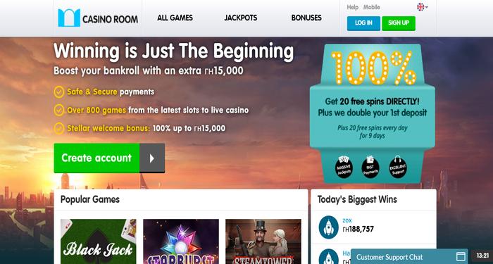 casino room online